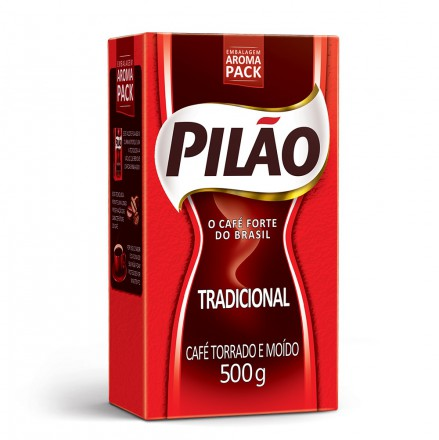CAFE PILAO TRADICIONAL A VACUO 1/2 KG 1670077