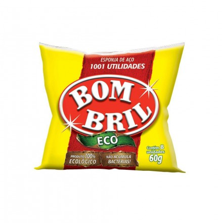 LA DE ACO BOMBRIL C/ 8 1101