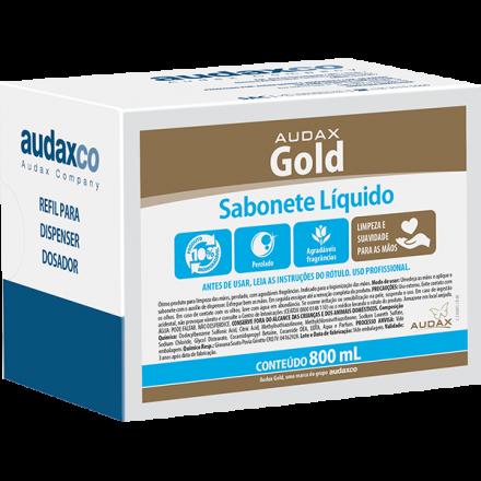 SABONETE LIQUIDO ERVA DOCE BRANCO 800 ML GOLD 111106 AUDAX