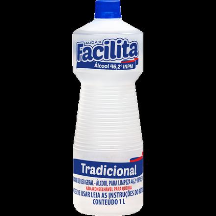 ALCOOL LIQUIDO 46 INPM FACILITA 109105 AUDAX