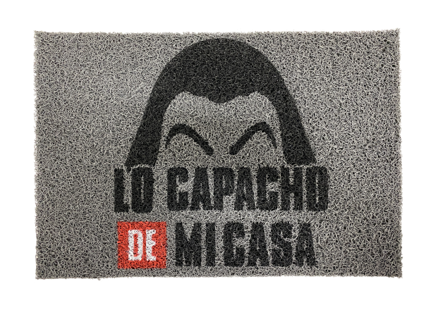CAPACHO DIVERTIDO 0,60 X 0,40 SM LO CAPACHO DE MI CASA